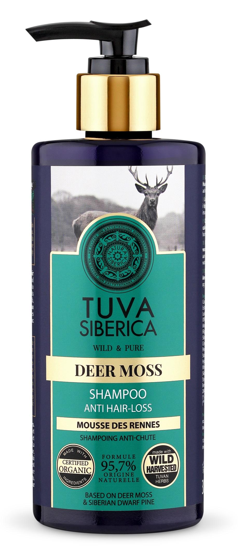 Natura Siberica Tuva Siberica - Šampón na aktívny rast vlasov 300 ml