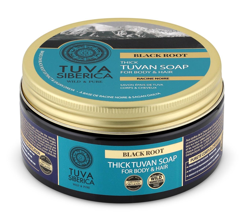 Natura Siberica Tuva Siberica - Silné Tuvanské mydlo na telo a vlasy - Čierny koreň 300 ml
