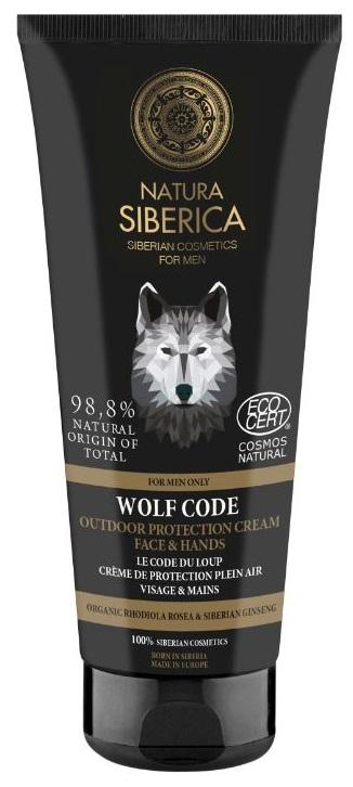 Natura Siberica Krém na ochranu tváre a rúk Wolf Code 80 ml