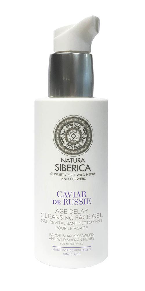 Natura Siberica Siberie Blanche - Čistiaci gél na tvár s omladzujúcimi účinkami 200 ml