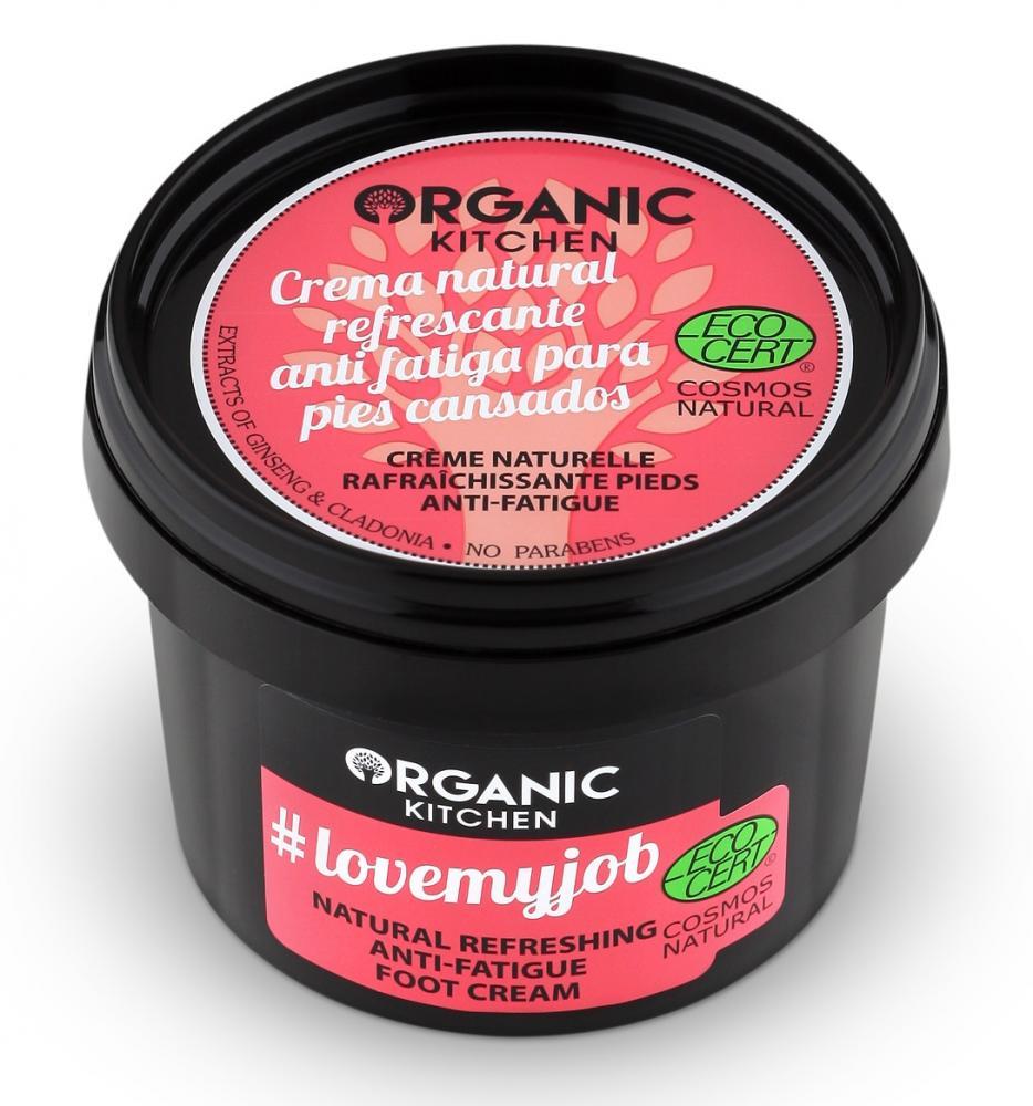Organic Kitchen Prírodný osviežujúci krém na nohy - proti únave 100 ml