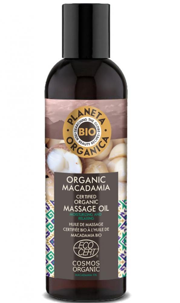 Natura Siberica Masážny olej na telo Makadamia 200 ml