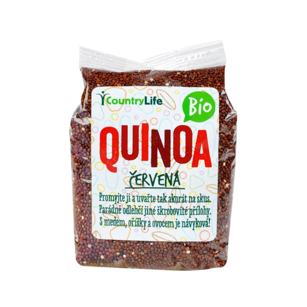 Country Life Quinoa červená 250 g BIO 250g