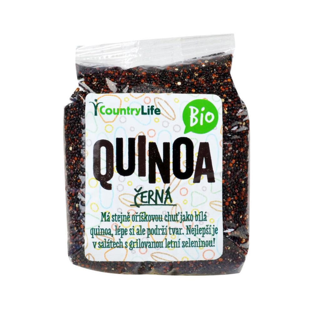 Country Life Quinoa čierna 250 g BIO 250g