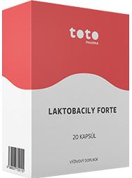 TOTO LAKTOBACILY FORTE + INULÍN cps 1x20 ks