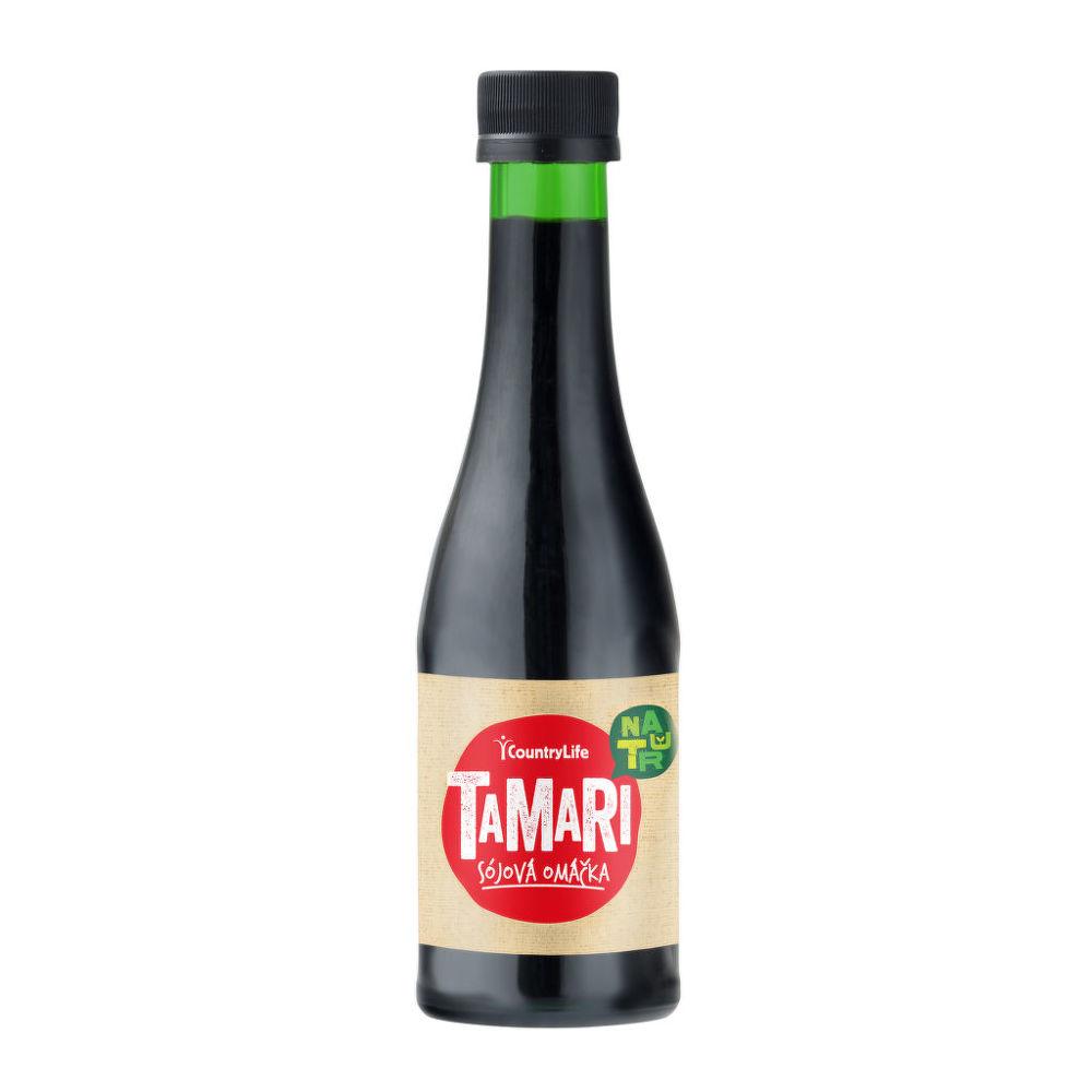 Country Life Tamari sójová omáčka 200 ml COUNTRY LIFE 200 ml