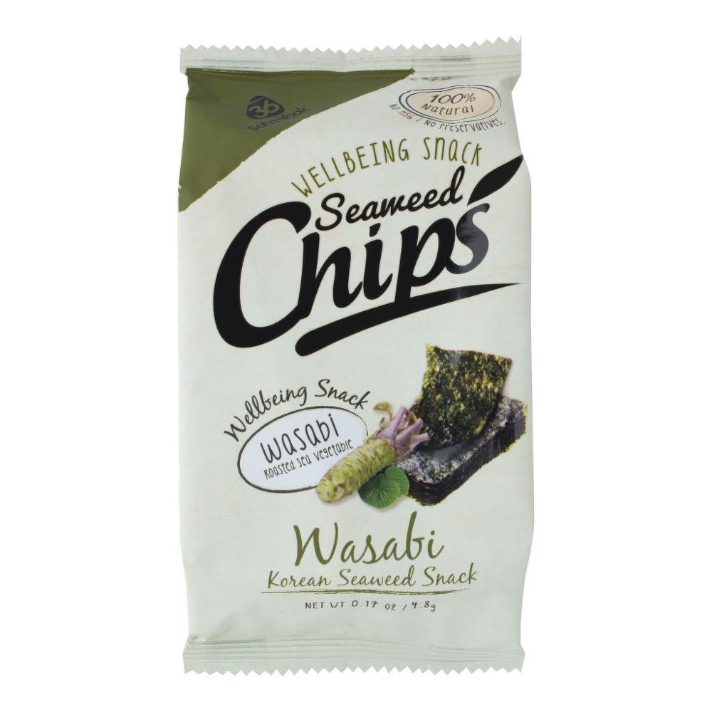 Country Life Morské riasy Snack praženej Nori s príchuťou Wasabi 4,8 g SAHM Yook 4.8 g