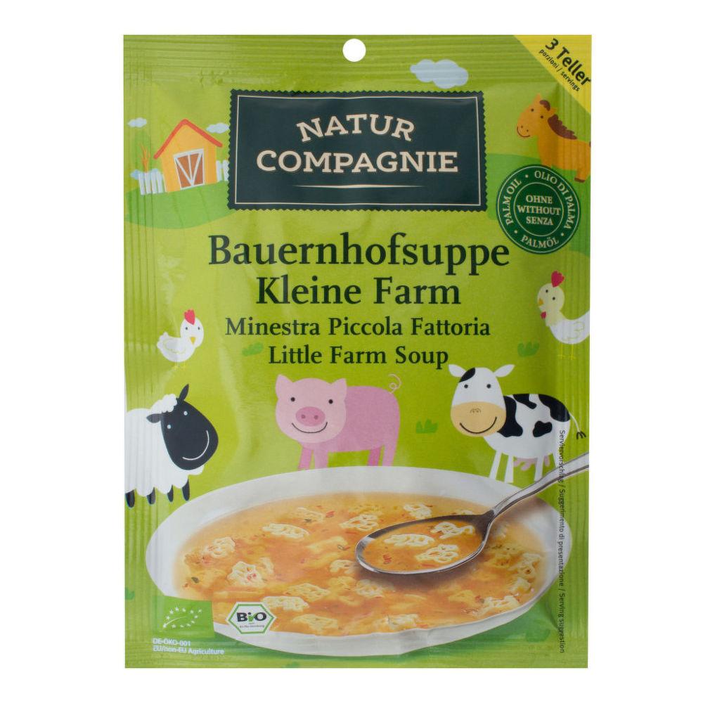 Country Life Polievka malá farma 63 g BIO NATUR COMPAGNIE 63 g