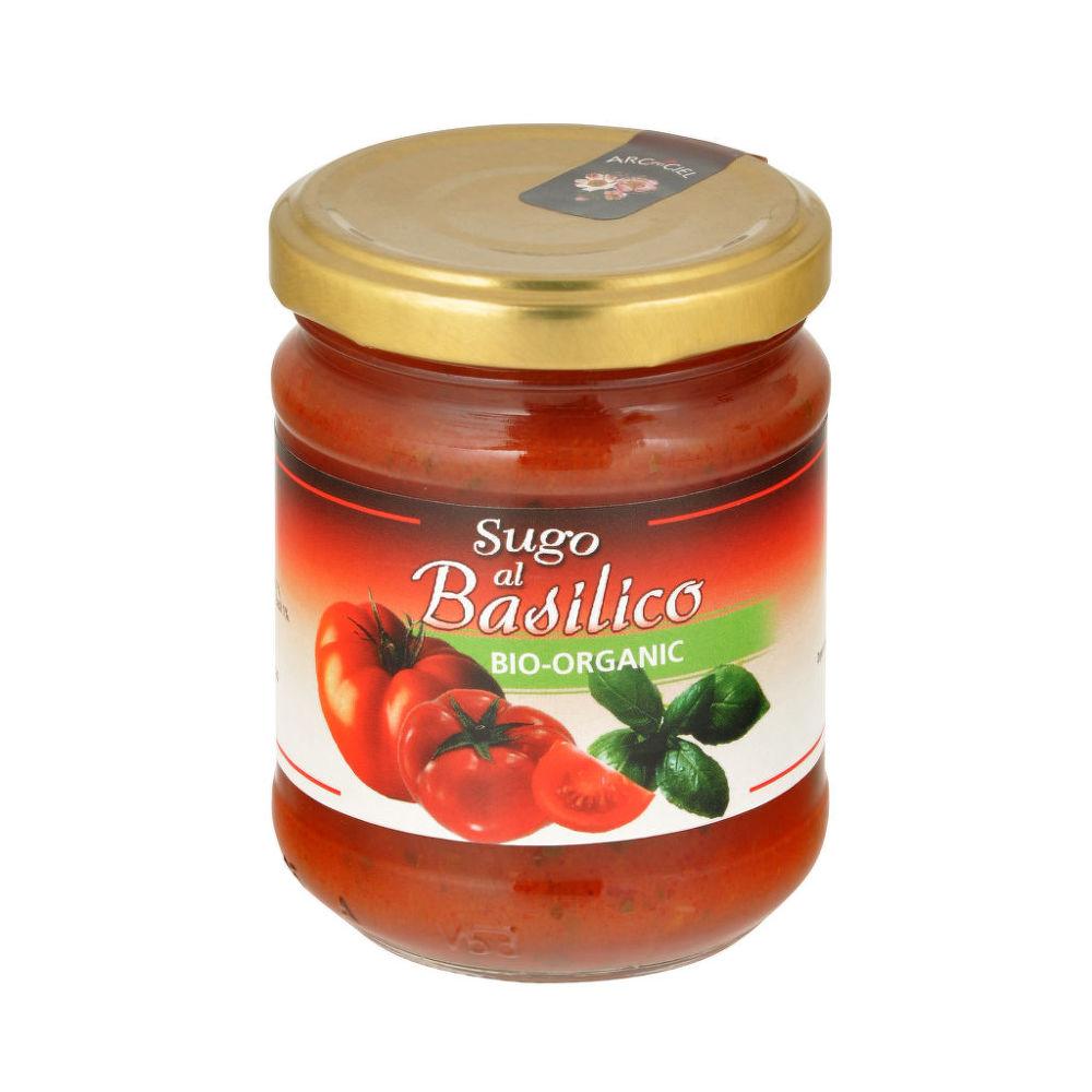Omáčka paradajková s bazalkou 190 g BIO ARC EN CIEL