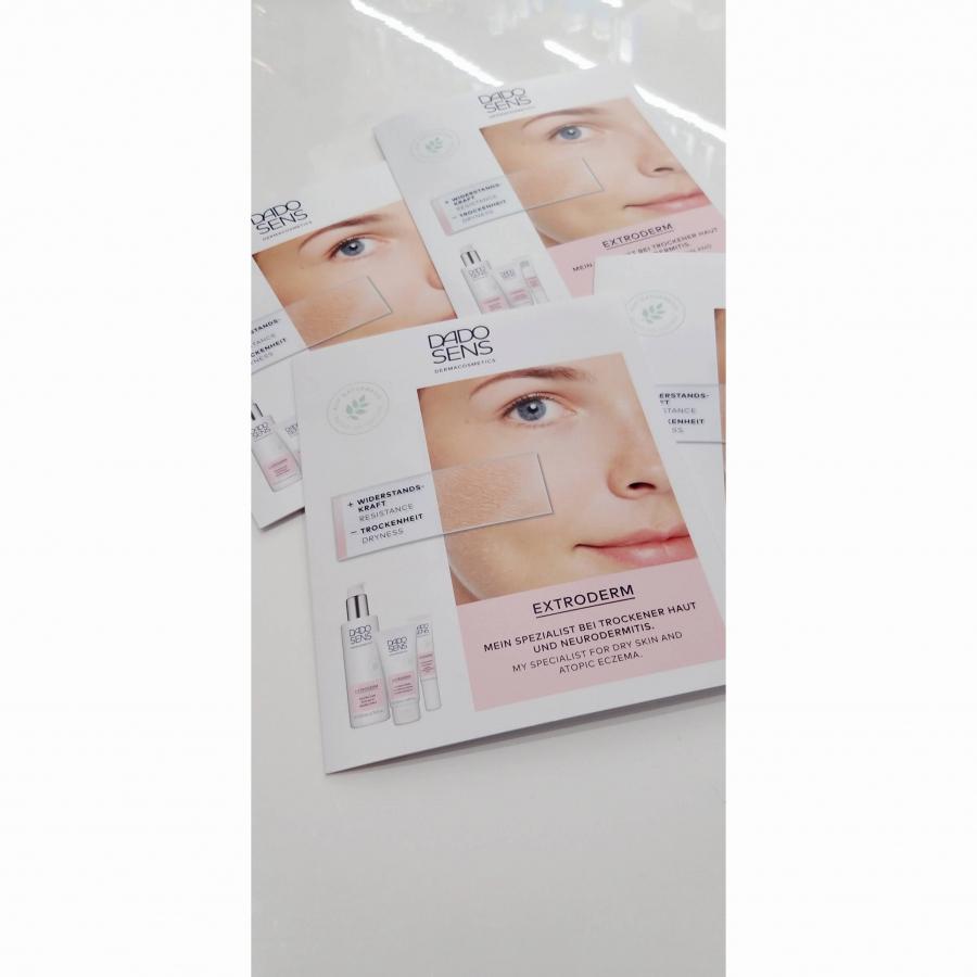 VZORKA EXTRODERM línia pre suchú a citlivú pokožku s očným krémom