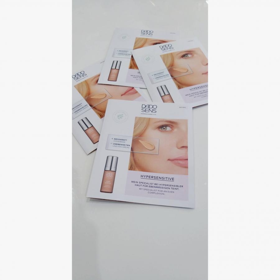 VZORKA Hypersenzitívny Make up NATURAL pre citlivú a mierne začervenanú pokožku 1x2ml