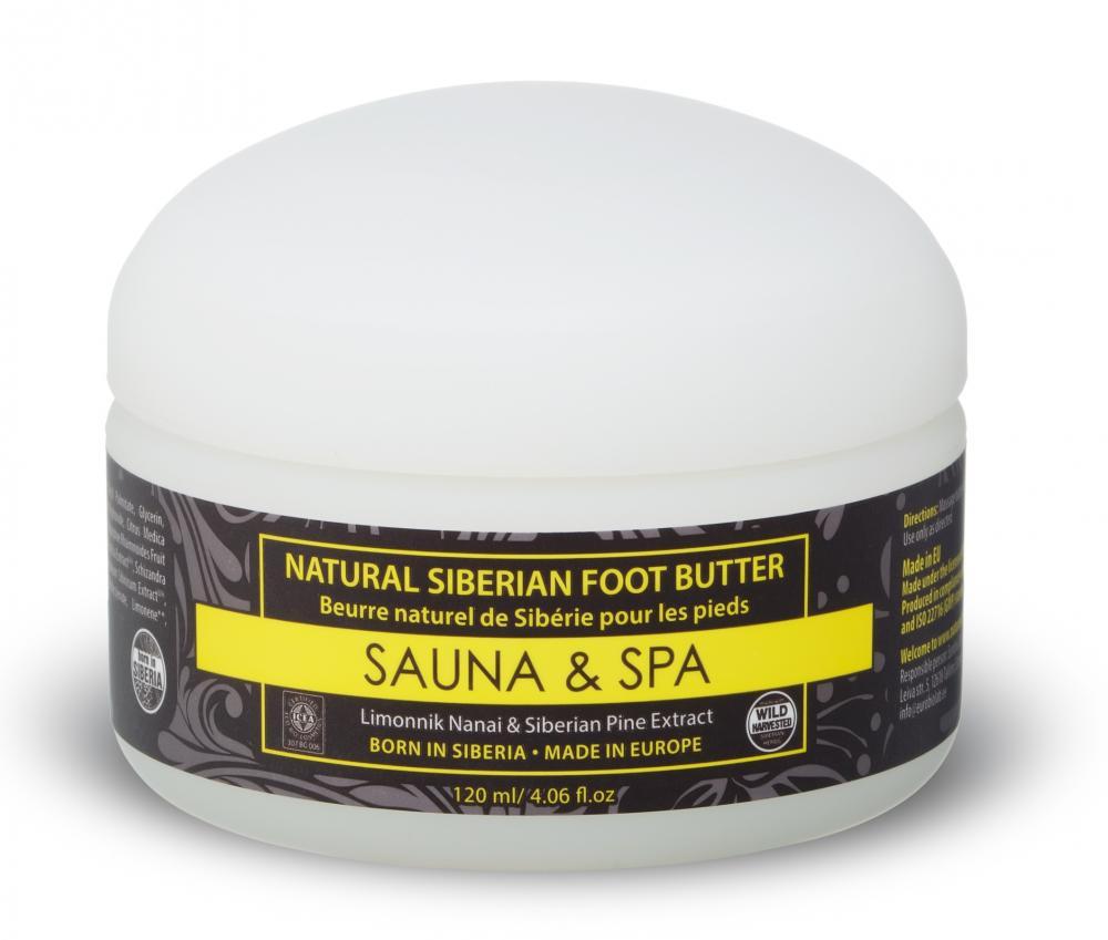 Prírodné sibírske maslo na nohy