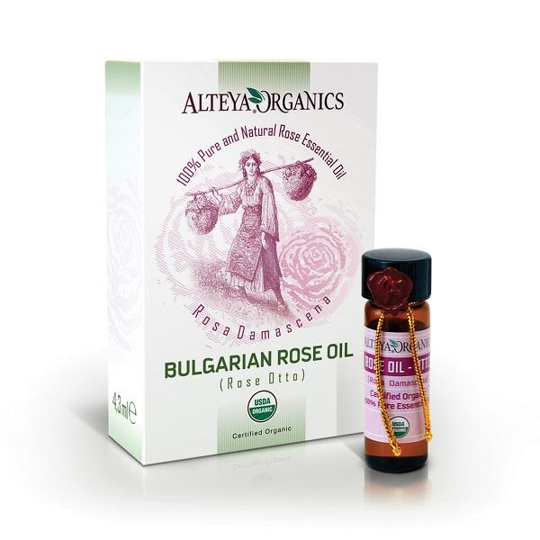 Alteya Organics Ružový olej 100% Bio Alteya 1 ml 1ml