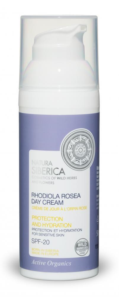 Denný ochranný hydratačný krém z rozchodnice ružovej na citlivú pleť