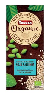 Torras Organic horká - sója a quinoa 100g