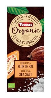 Torras Organic horká - 70% morská soľ 100g