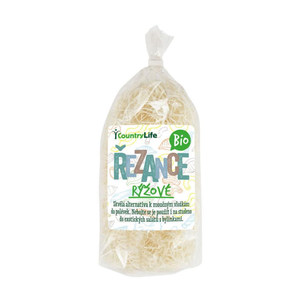 Cestoviny rezance ryžové 200 g BIO