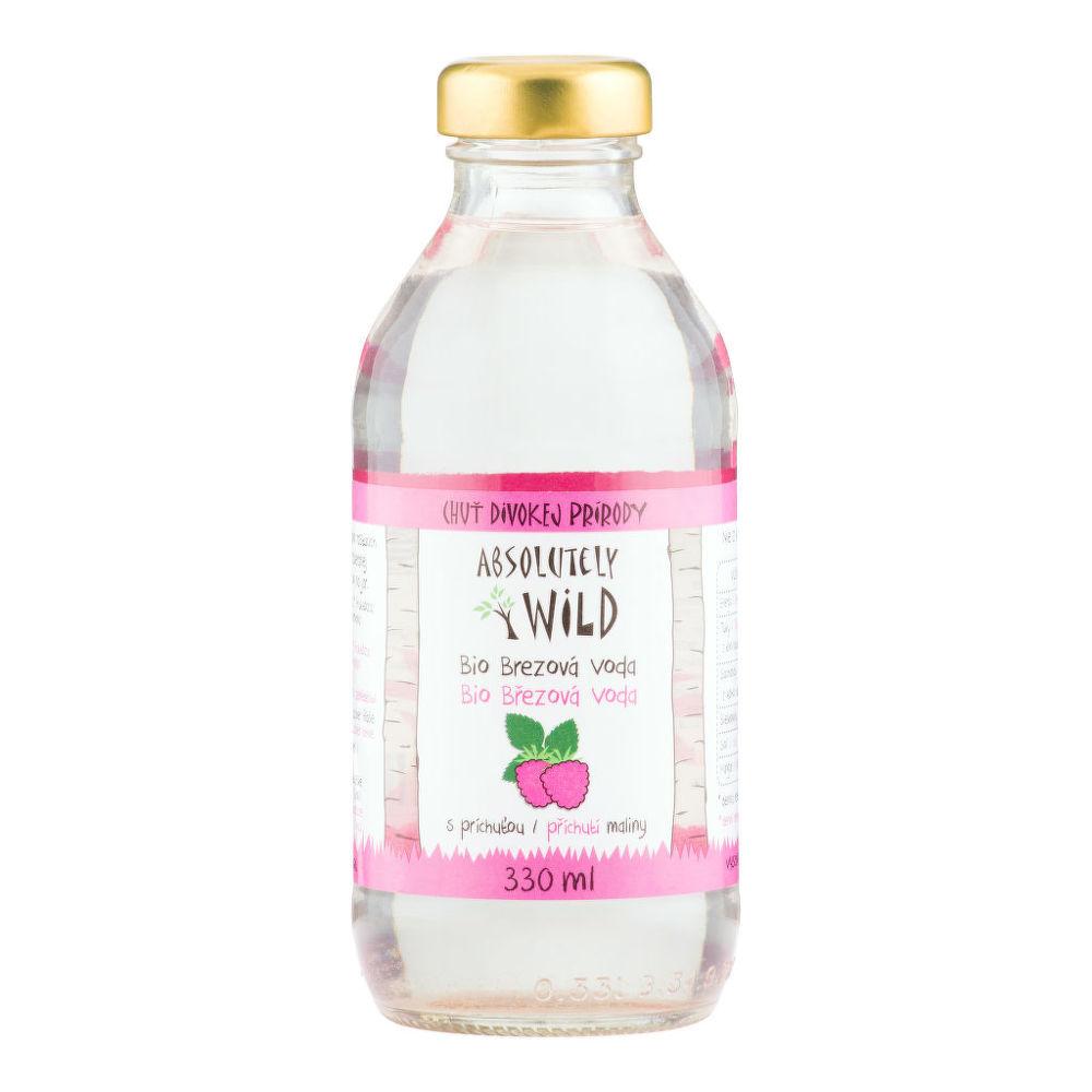 Country Life Brezová voda s príchuťou maliny 330 ml BIO ABSOLUTELY WILD 330 ml