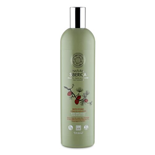 Natura Siberica Cédrová protistresová pena do kúpeľa SPA 550 ml