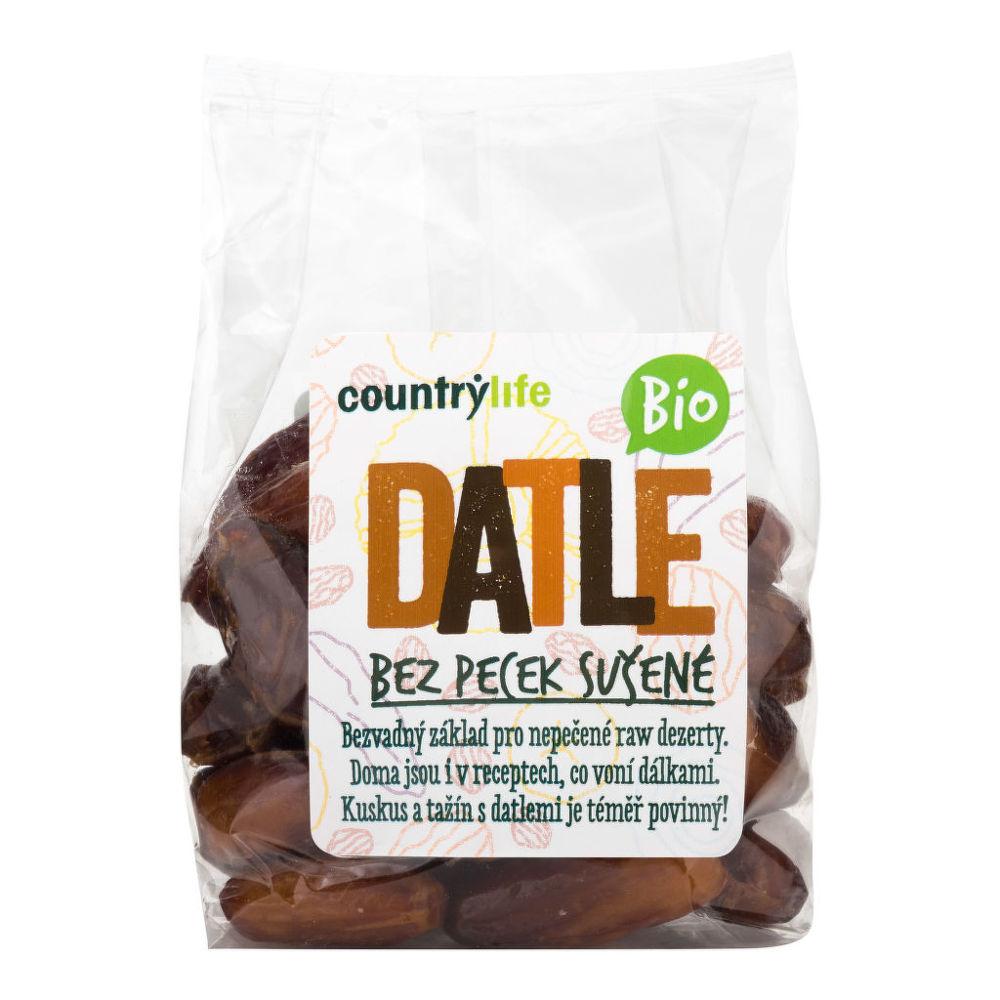 Datle sušené bez kôstok 250 g BIO COUNTRY LIFE