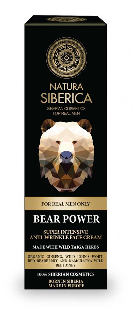 Super intenzívny krém proti vráskam Sila medveďa