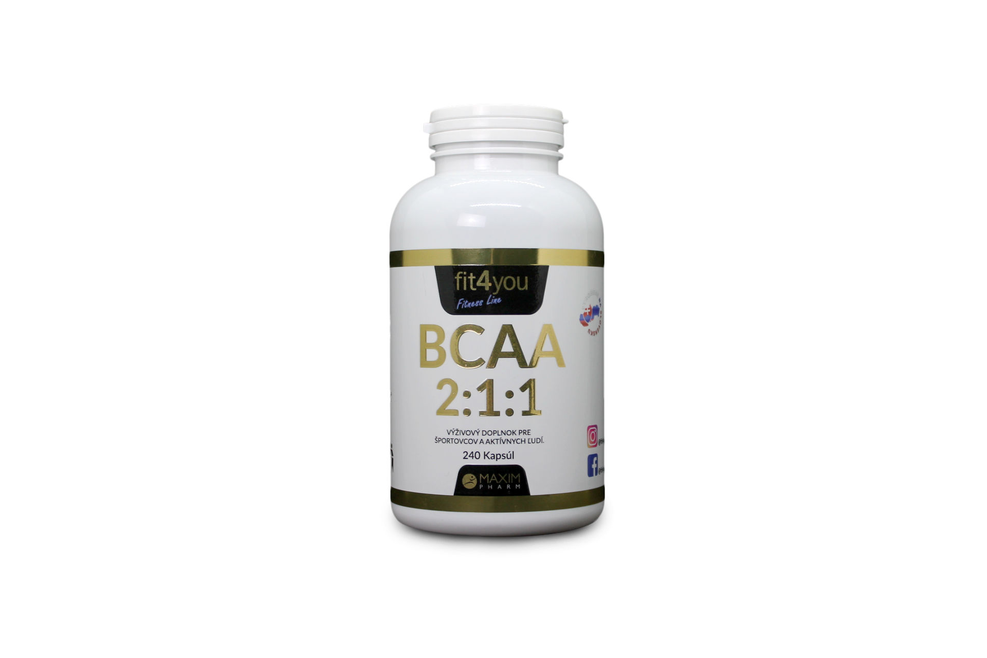 Fit4you BCAA 2:1:1 240 ks