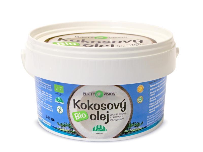 Purity Vision Bio Kokosový olej 2,5 l 2,5 l