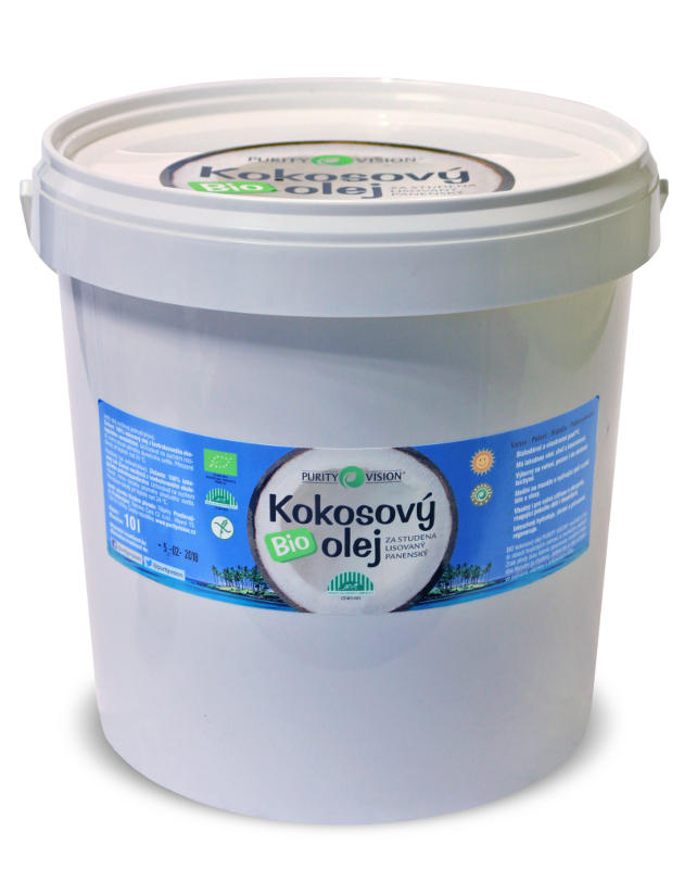Bio Kokosový olej 10 l