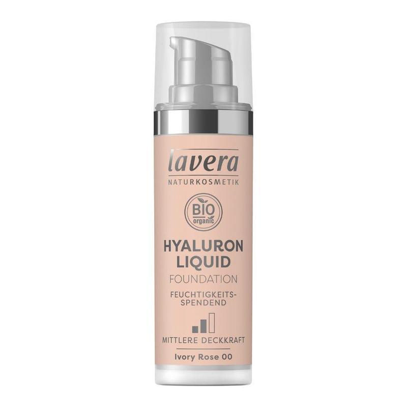 Ľahký tekutý make-up s kyselinou hyalurónovou - 00 Slonová kosť 30 ml