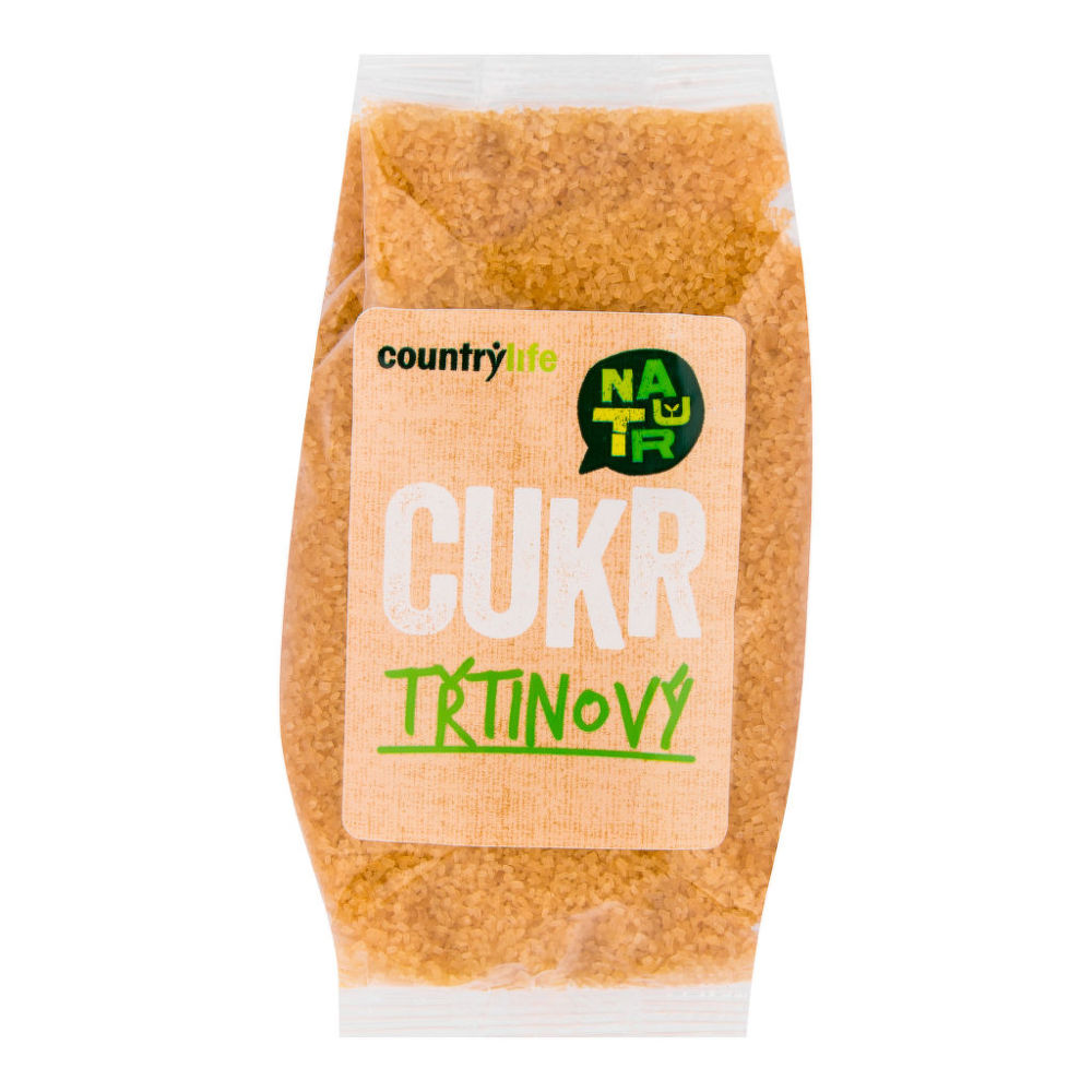 Country Life Cukor trstinový 500 g COUNTRY LIFE 500 g