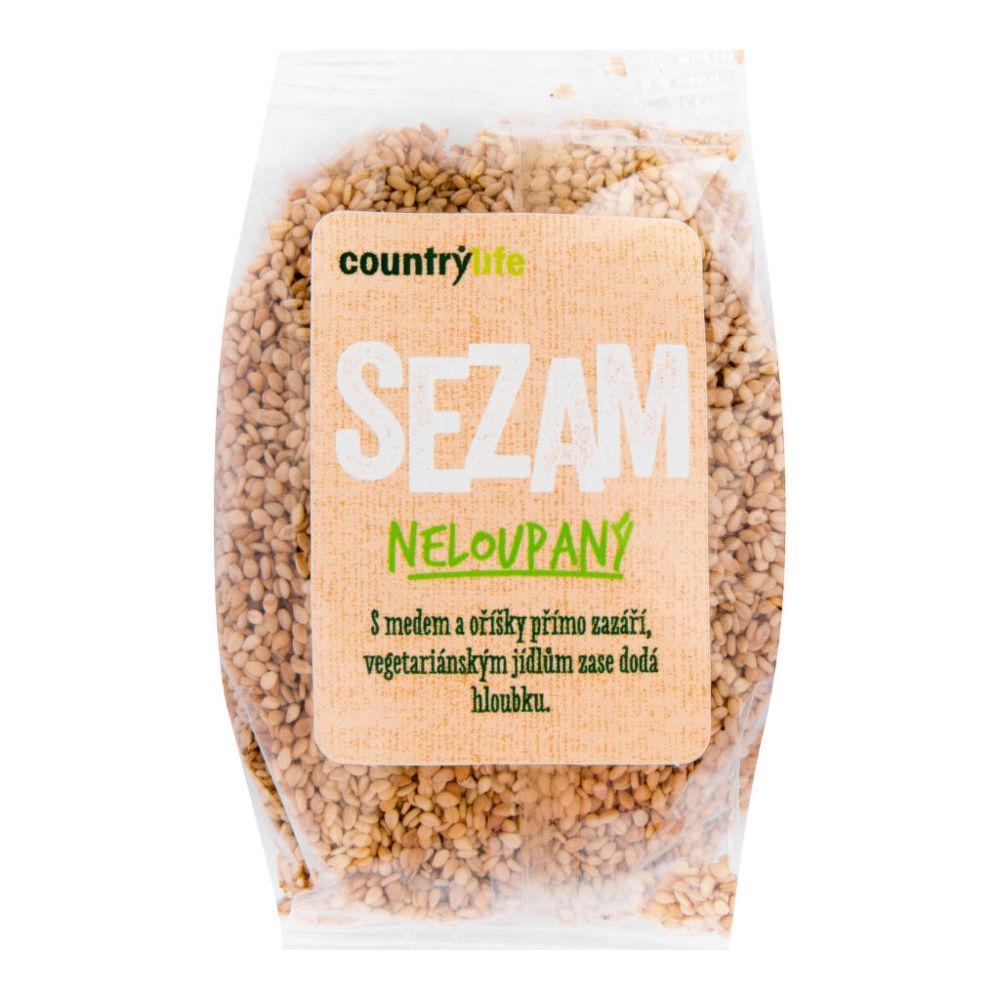 Country Life Sezam nelúpaný 100 g COUNTRY LIFE 100 g