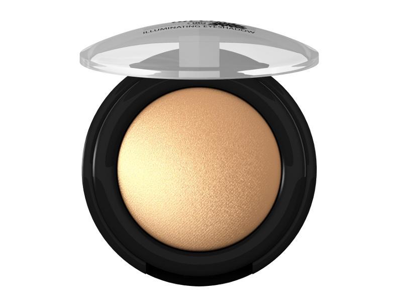 Trblietavé Minerálne očné tiene 05 - Žiarivá zlatá