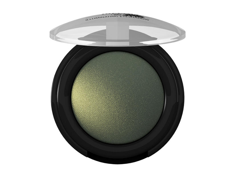 Trblietavé Minerálne očné tiene 07 - Zelená