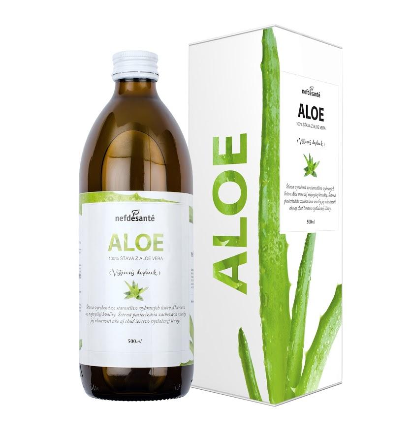 Nefdesante ALOE (100 % šťava z Aloe Vera 500 ml) 500 ml
