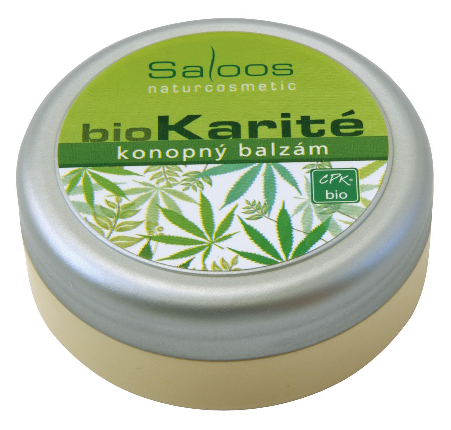 Saloos Bio karité - Konopný balzam 50 50 ml