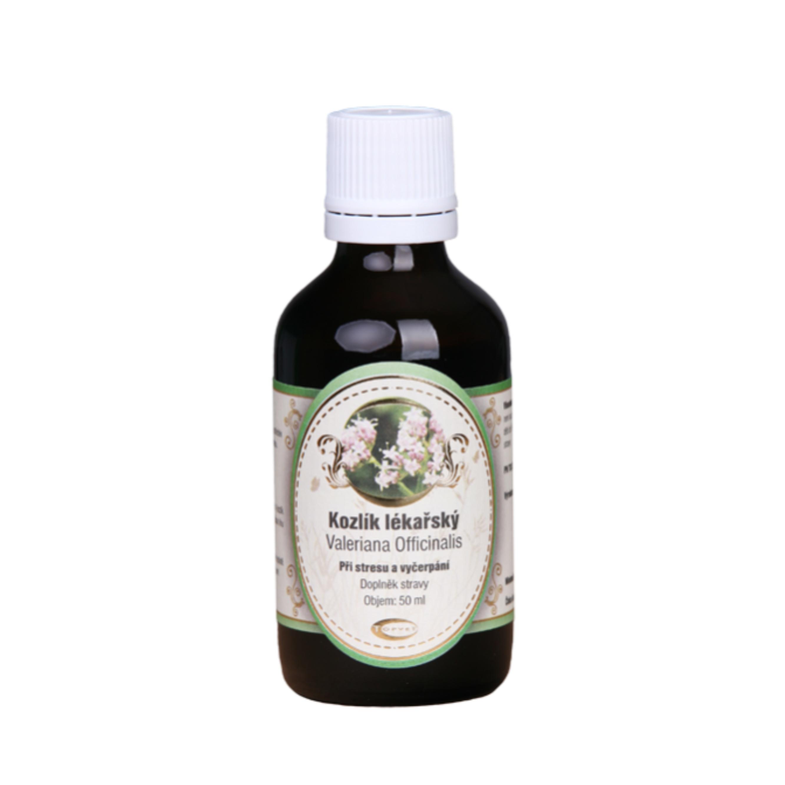 Baldriánské kvapky - valeriána lekárska tinktúra 50 ml