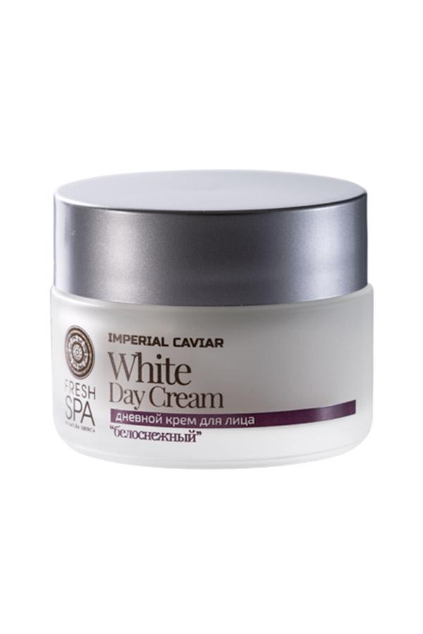 Natura Siberica Biely omladzujúci pleťový denný krém na tvár Imperial Caviar 50 ml