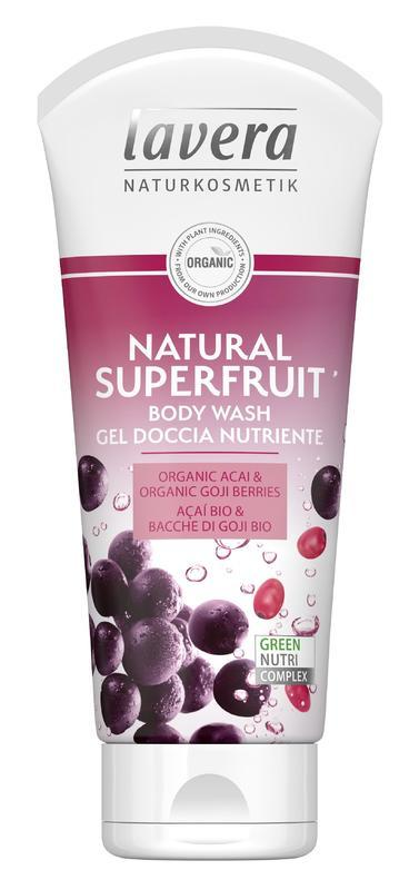 SPRCHOVÝ GÉL NATURAL superfruit 200 ML