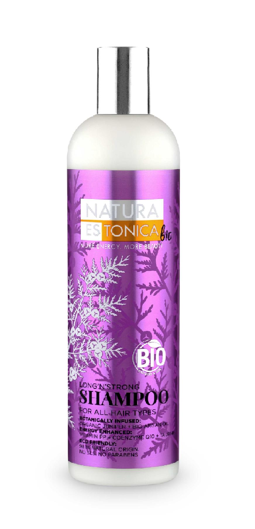 Natura Estonica - Šampón Dĺžka a sila