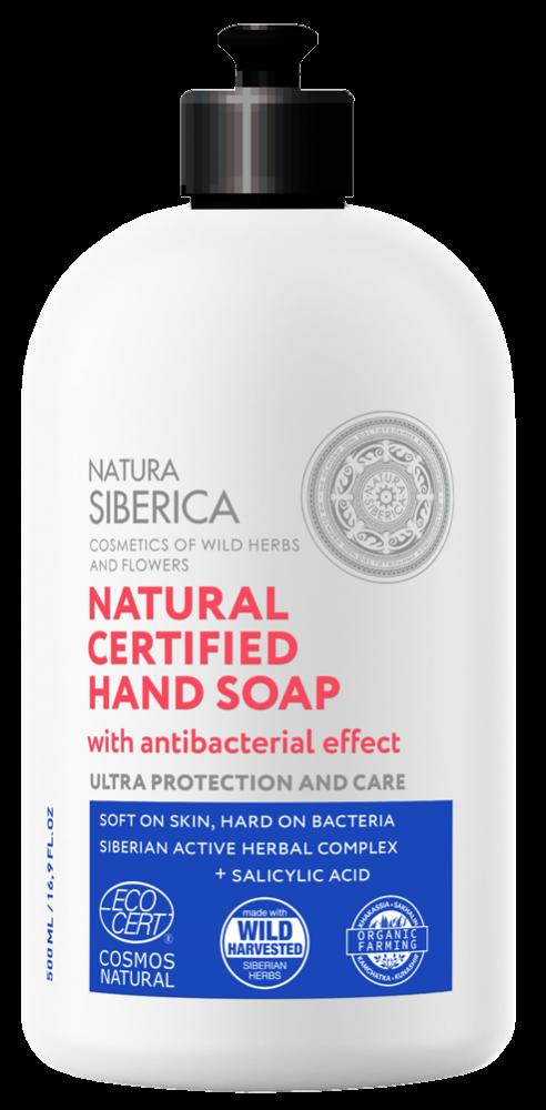 Prírodné certifikované mydlo na ruky s antibakteriálnym účinkom