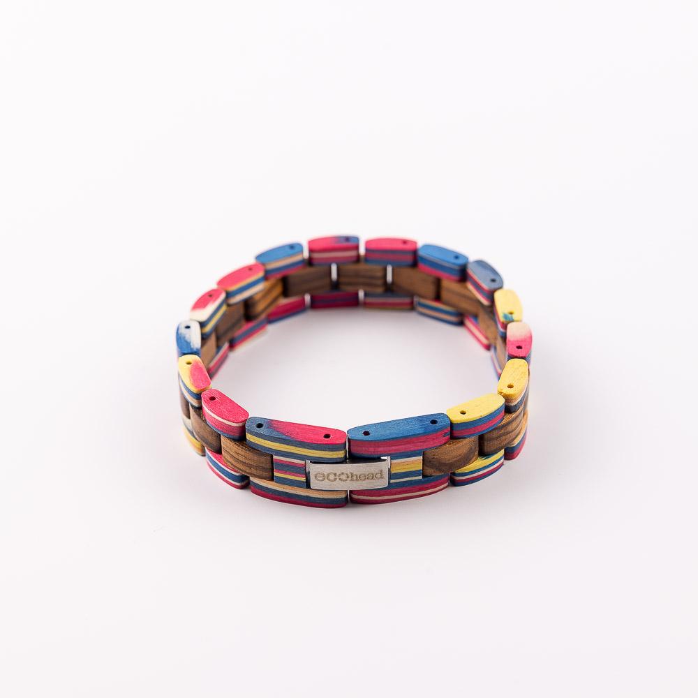 Ecohead Náramok na ruku - Double Rainbow without box