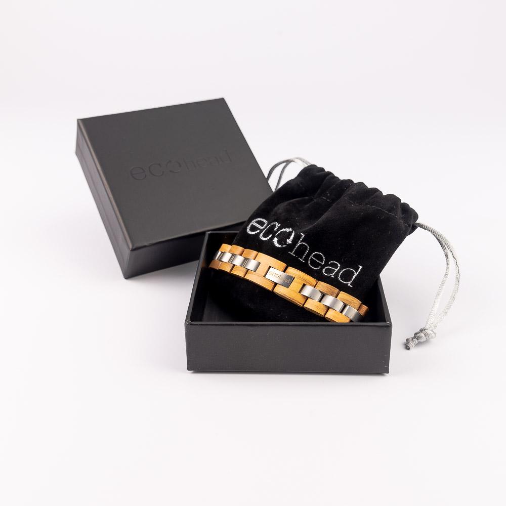 Ecohead Náramok na ruku - White Monk s krabičkou gift box