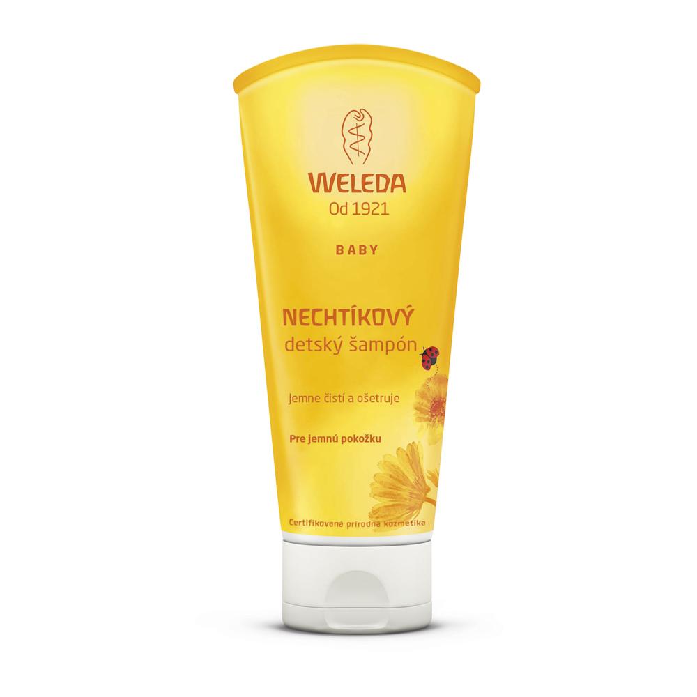 Nechtíkový detský šampón 200 ml