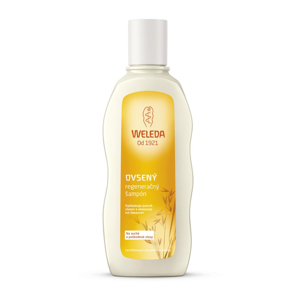 Ovsený regeneračný šampón, suché vlasy