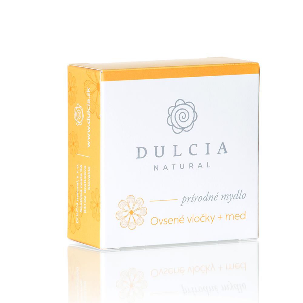 Dulcia natural Prírodné mydlo - Ovsené vločky + med 90 g 90 g