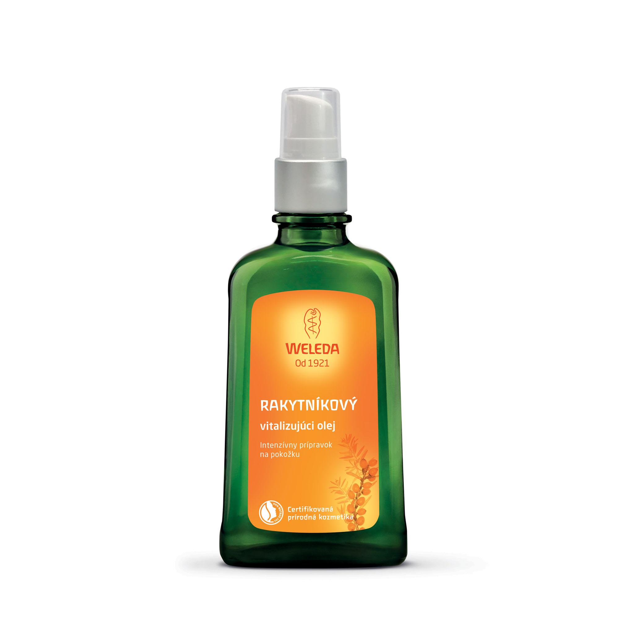 Rakytníkový vitalizujúci olej