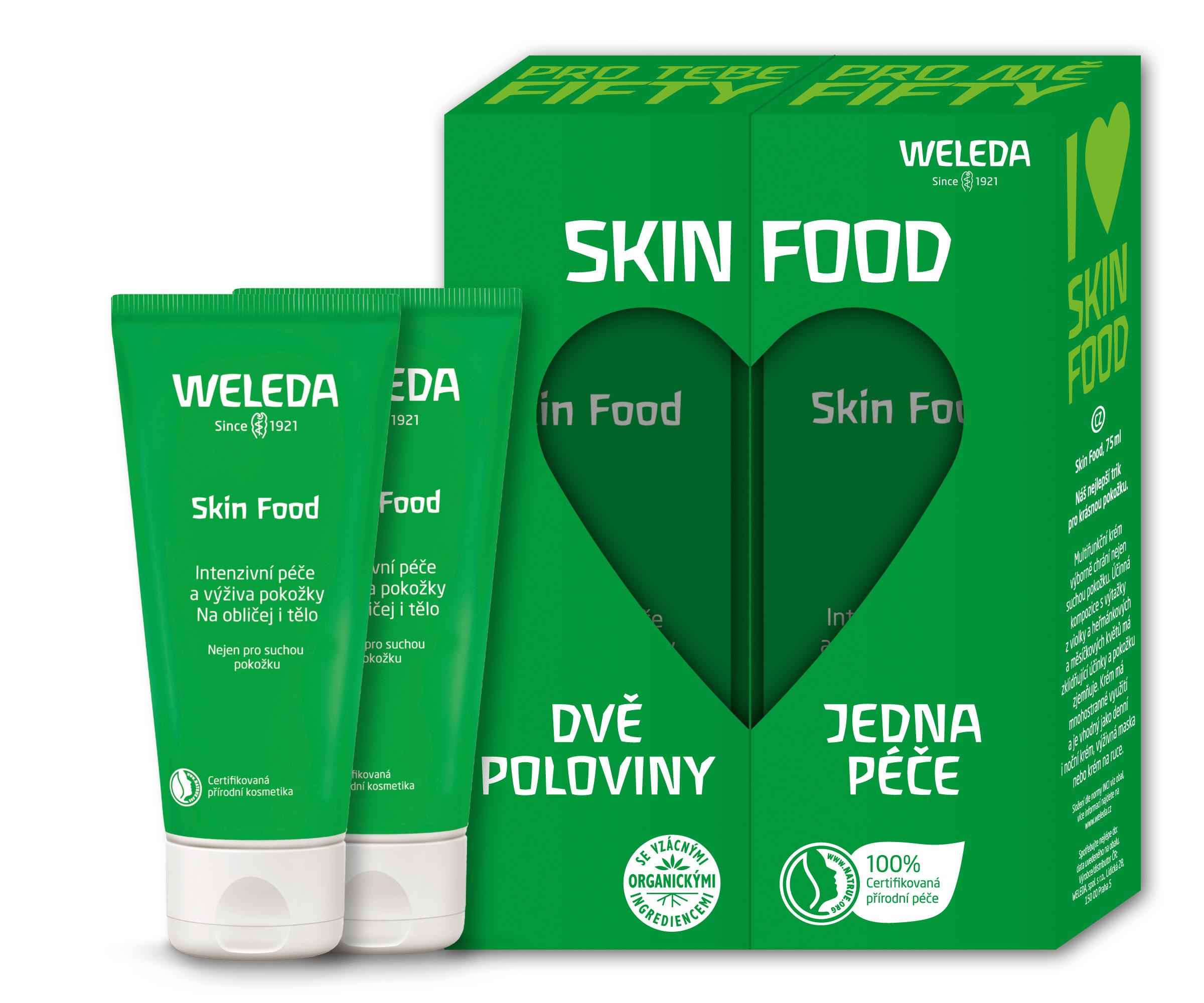 Weleda Skin Food pre spriaznenú dušu 75+75 ml