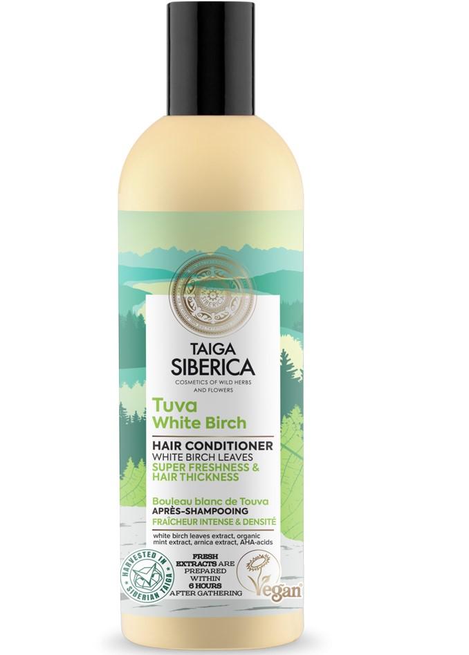 Taiga Siberica -prírodný kondicionér - Tuva biela breza - super sviežosť a hustota vlasov