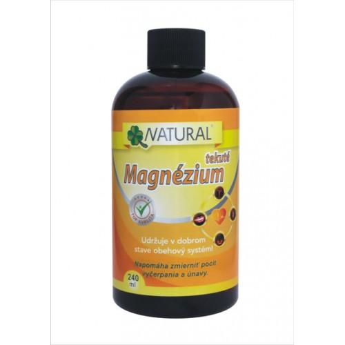 Tekuté Magnézium 150 mg, 240 ml