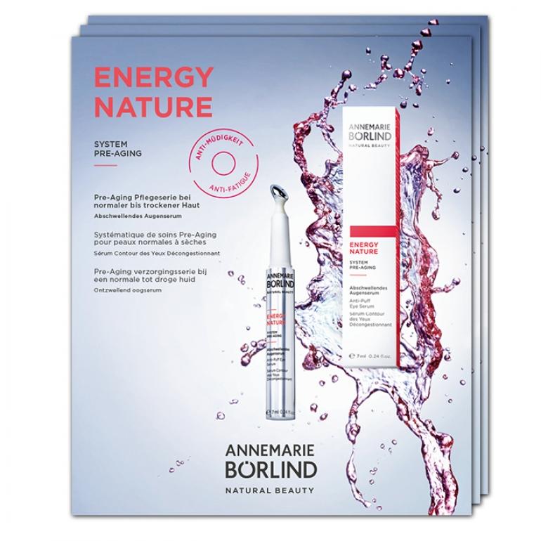 ENERGY NATURE sérum na očné vačky - VZORKA